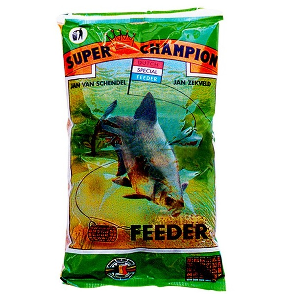 Vnadiaca zmes MVDE Super Champion Feeder Black 1kg
