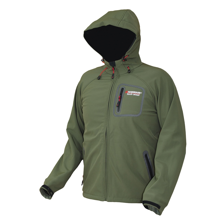 ROBINSON Bunda Softshell Fishing Trip - M