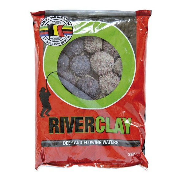 Prísada do krmiva MVDE River Clay Black 2kg
