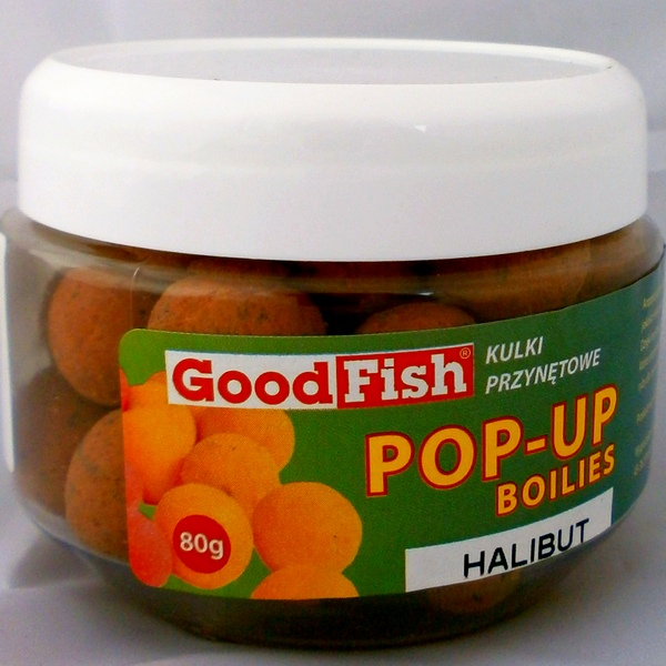 Kulki pop-up 16mm, Halibut, 80g